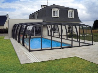 High quality pool enclosure OMEGA - for your pool